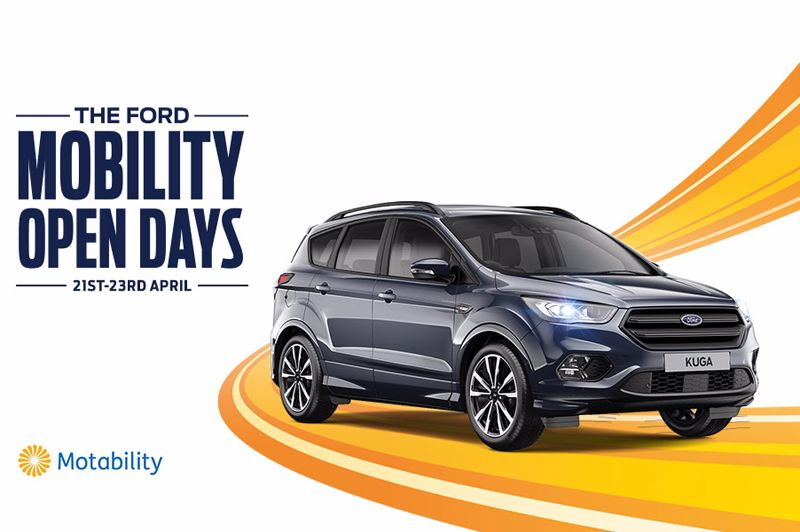 Motability Open Days 21st-23rd April
