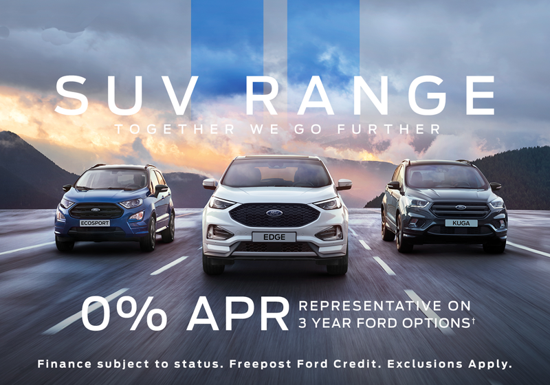 Ford SUV Range with 0% APR - Promotions Event